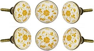 white ceramic door knobs uk