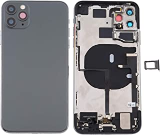 ZHANGYOUDE Repair Parts Battery Back Cover Assembly (with Side Keys & Power Button + Volume Button Flex Cable & Wireless C...