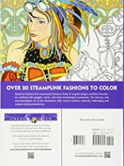 Creative Haven Steampunk Fashions Coloring Book (Creative Haven Coloring Books) #1