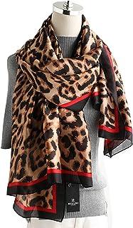 K-ELewon Silk Feeling Scarf Fashion Scarves Long Lightweight Sunscreen Shawls for Women