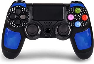 Wireless Controller for PS4, KINGEAR Pro Controller for Playstation 4 with Dual Vibration - Blue