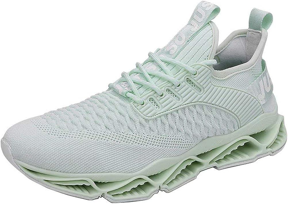 Zapatos para Correr Hombre Respirable C/ómoda Gimnasio Zapatillas Casual Correr Aire Libre Sneakers Antideslizante