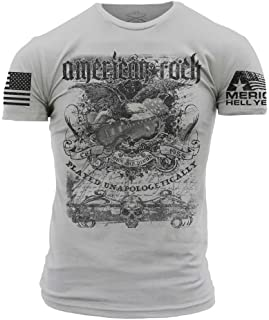 Grunt Style America Hell Yeah - American Rock Men's T-Shirt
