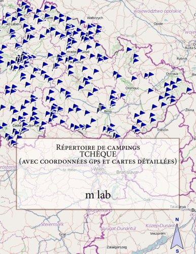 Répertoire de campings TCHÈQUE  (avec coordonnées gps et cartes détaillées)