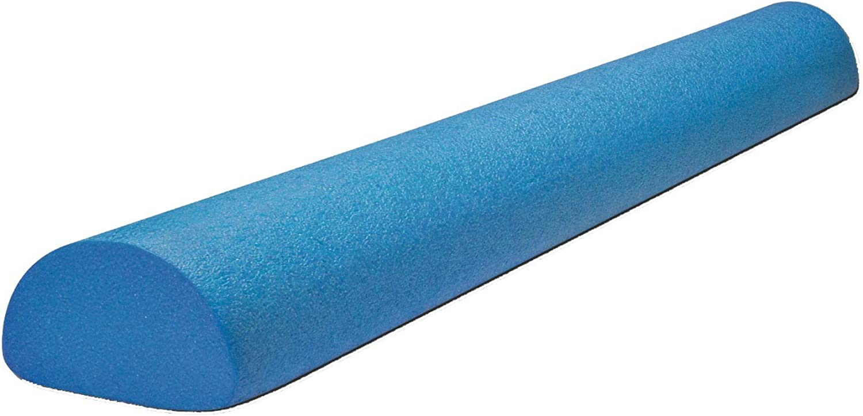 BodySolid Tools Half Foam Roller, 36 , bluee