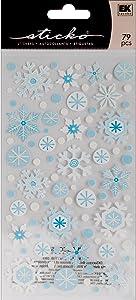 Sticko Winter Snowflakes Stickers
