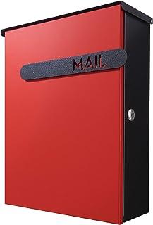 カバポスト ポスト郵便受け マンモス大型 回覧板 レターパック対応 鍵付き 壁掛け 郵便ポスト