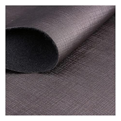 ZSFBIAO Hojas de cuero sintético de vinilo sintético PU tela de cuero sintético, accesorios de cuero, piezas de cuero (tamaño: 137 cm x 1 m, color: 7 cm de profundidad)
