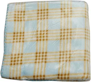 Big Oshi Fuzzy Crib Blanket (Blue)