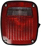 Grote 53792 Ford Stop Tail Turn Box Light (LH w/ License Window)