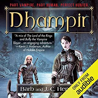 Dhampir audiobook cover art