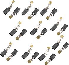SOURCING MAP Escobillas de carbono para taladro Bosch, 20 unidades, apagado automático, de 14,5mm x 7,8mm x 4,8mm, de Sourcingmap