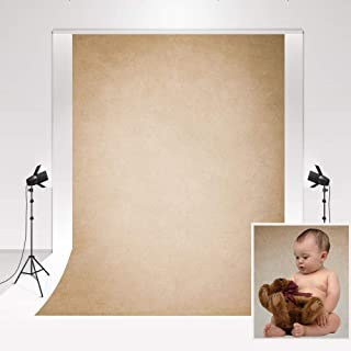 Kate Telones de Fondo Photography Marrón Claro 1.5x2.2m/5x7ft Telón de Fondo Estudio Photocall Wave Dot Texture Fondo clásico para Retrato de Familia Decoración de la Pared