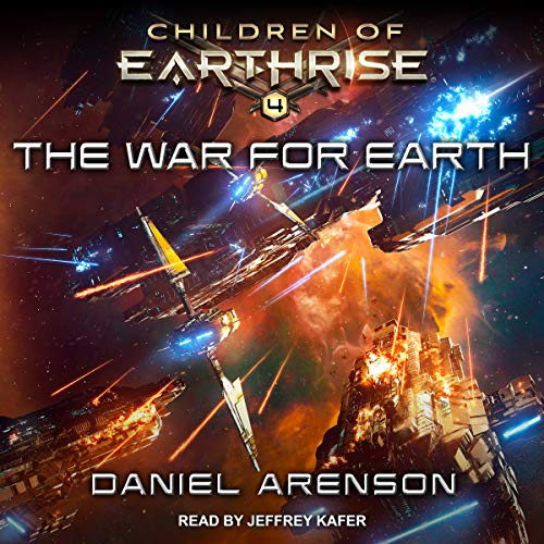 The War for Earth audiobook cover art