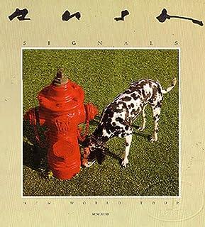 Rush 1982 Signals Tour Concert Program Programme Book
