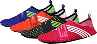 E Support Quick Dry Barefoot Water Shoes Elastic Skin Soft Aqua Socks for Men Women Beach Pool Surf Swim Yoga Exercise