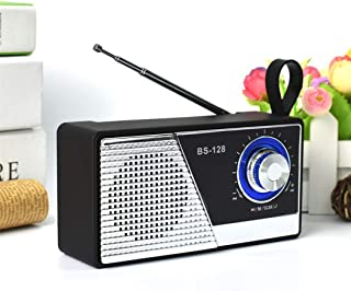 Radio Bluetooth Speaker New, Bluetooth Audio Mini Outdoor Bluetooth Speaker Collection Audio,Silver