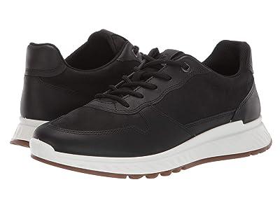 ECCO ST.1 Sneaker (Black/Black) Women