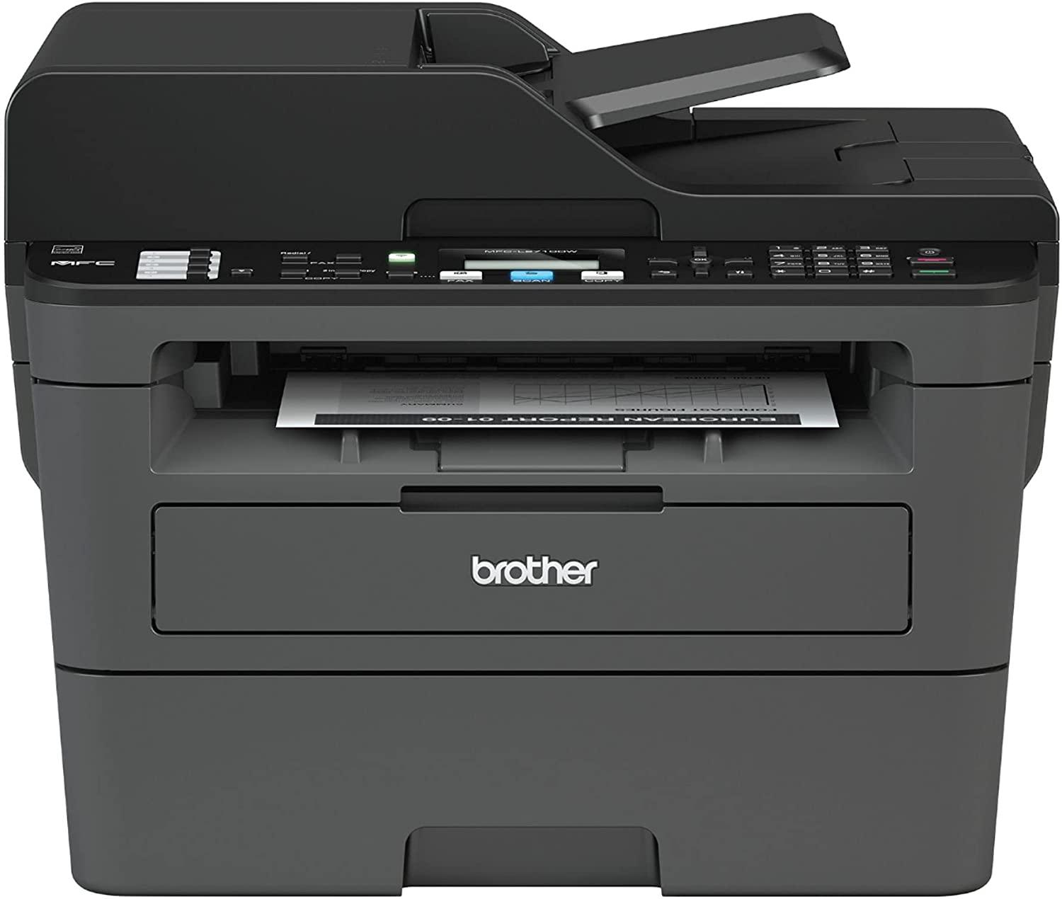 Brother MFC-L2710 Popular Be super welcome brand All-in-One Wireless Monochrome f Laser Printer