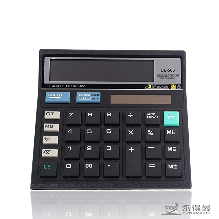 化学薬品欠員頬電卓 電卓、Helect標準機能デスクトップ電卓 準関数電卓スクールオフィス