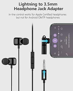 Mangotek Iphone Kopfhörer Adapter