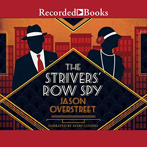 The Strivers' Row Spy audiobook cover art