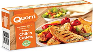 Quorn, Chicken Style, Cutlet, Naked, 9.7oz (Frozen)