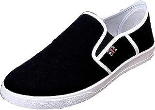 Scarpe Sportive da Uomo - Tela - Senza Lacci - LXL-033/LXL034