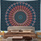 Wandteppich Groß Hippie Mandala Indie Aesthetic Tuch