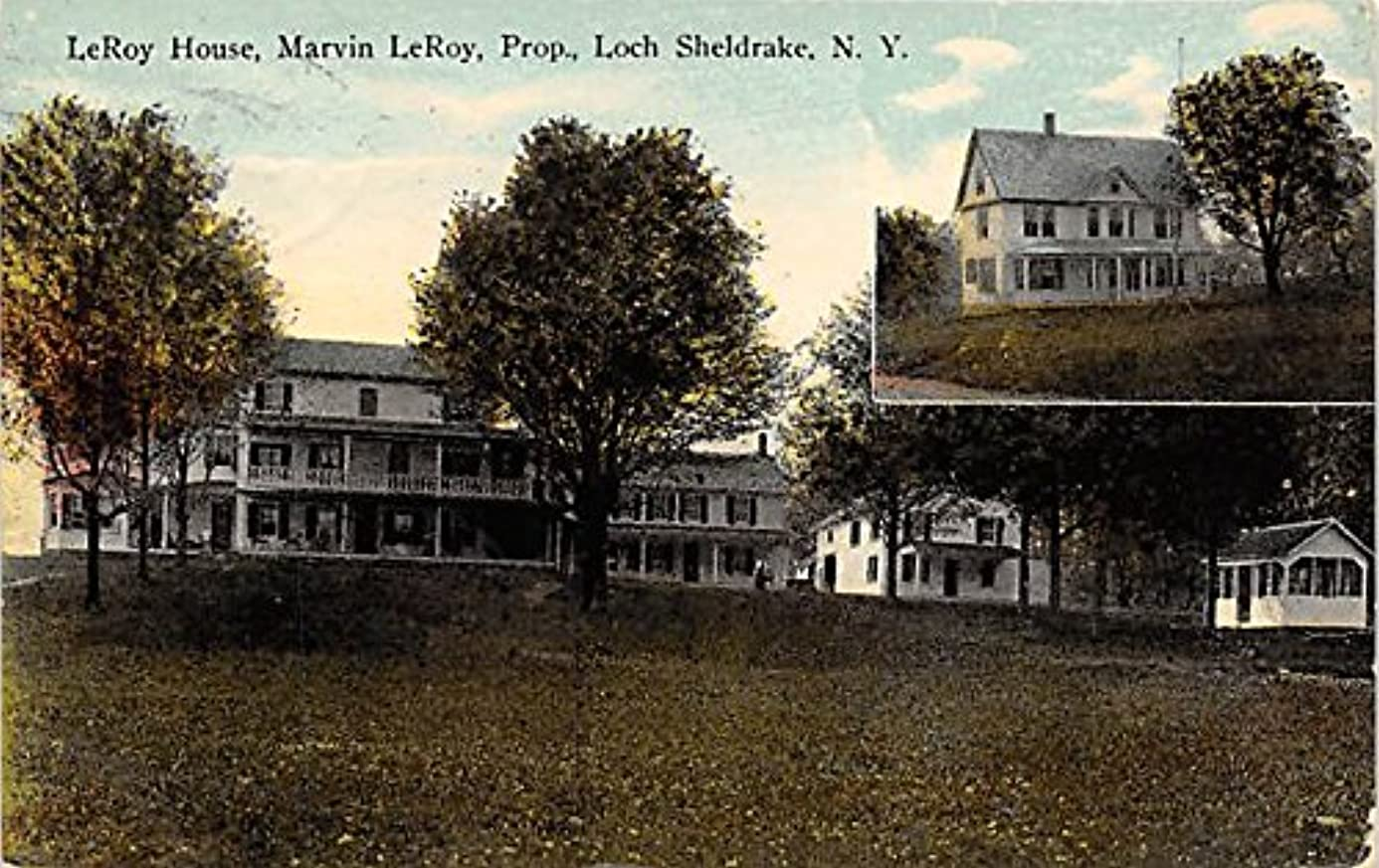 LeRoy House Marvin Le Roy Prop Loch Sheldrake, New York, Postcard kwe1536048