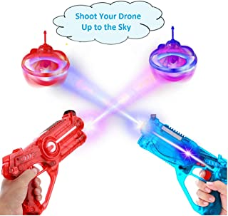 Infrared laser Tag Set for kids, Toy with Flying Drone Fun, Lazer Tag 4 Player Shooting Games with 2 Toy Guns, 2 Flying Toy Targets, Christmas toys For Boys and Girls, Holidays toy Ages 4 + Years Old
