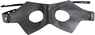 Arrow Mask Real Leather Oliver Queen Laurel Sara Cosplay Props 2016