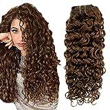 Easyouth 18 Inch Clip in Human Hair...