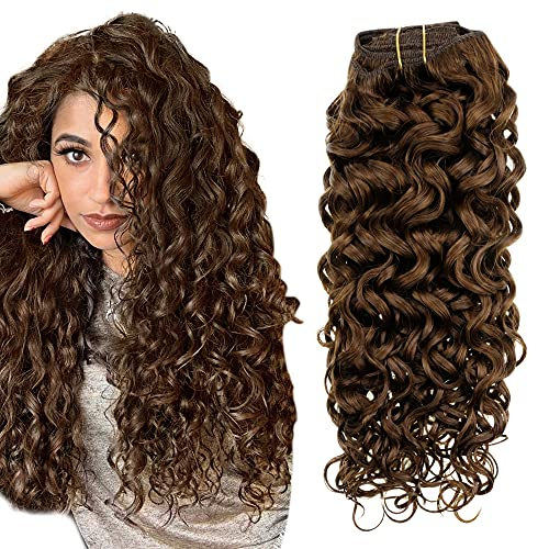 Easyouth 18 Inch Clip in Human Hair Extensions...