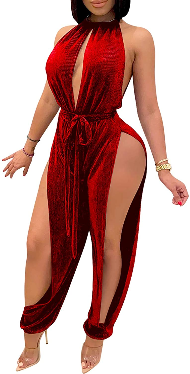 PORRCEY Memphis Mall Women Long Sleeve Club Romper Max 68% OFF Overalls Bodycon Lace Part