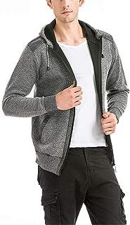 Nolincl Clothing Men Hoodie Motion Wool Sweatshirt