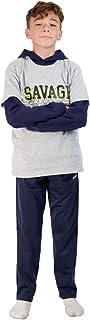 Boys Fleece Hoodie and T-Shirt Set 2-Piece Kids...