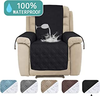 Waterproof Recliner Chair Cover for Large Recliner Premium Quilted Furniture Protector Chair Slipcover Non Slip Quilted Protector Cover Perfect for Pets and Kids(Oversize Recliner,91