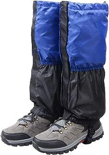 Fleece-Lined Snow Leg Gaiters Waterproof Boot Gators Hiking Gaiters for Kids Men Women Lightweight Walking Climbing Hunting Cycling Leggings Cover
