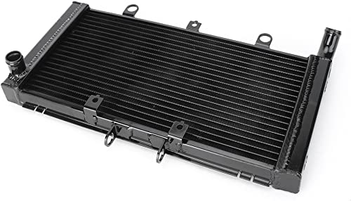 2021 Mallofusa Motorcycle Aluminum Radiator Cooling Cooler Replacement Compatible for Honda CB1300 2003 2004 2005 2006 online 2007 discount 2008 2009 2010 Black online