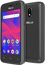 Blu C4 Android V. 8.1 Unlocked Cell Phone Dual Sim 8GB GSM ATT TMobile Smartphone (Black)