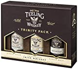 Teeling Whiskey Co. - Trinity 3 x Miniatures Gift Pack - Whisky, 150 ml