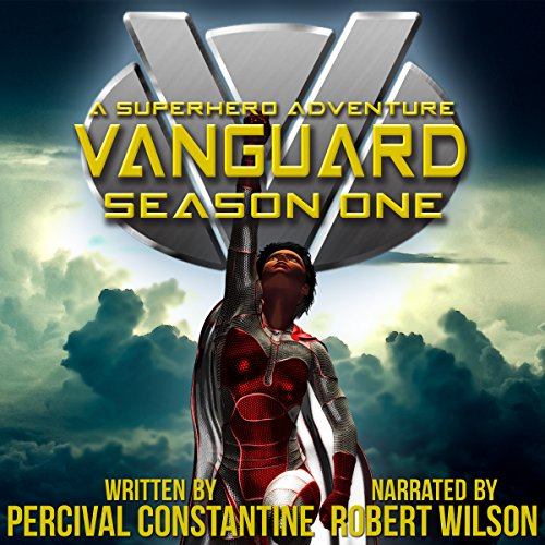 Vanguard: Season Two: A Superhero Adventure  audiobook cover art