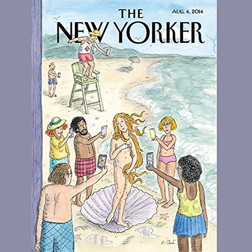 『The New Yorker, August 4th 2014 (Nicholas Schmidle, Michelle Goldberg, Pankaj Mishra)』のカバーアート
