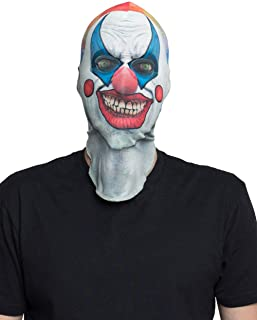 Unisex-Adults 3D Photo-Realistic Halloween Full Fabric Face Mask