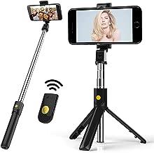 Selfie Stick & Tripod, Portable and Adjustable Camera...