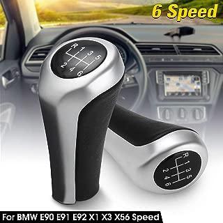 Car 6 Speed Gear Shift Knob Shifter Knob For BMW E46 E90 E91 E92 X1 X3 X5