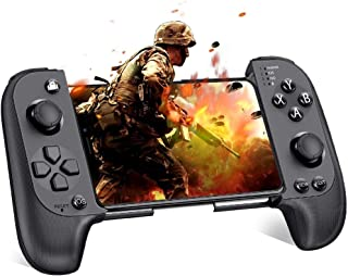 Mobile Controller Android Controller Wireless Gaming Gamepad Controllers for ios Android iPhone Compatible with Bluetooth ...