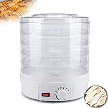 MissZZ Déshydrateur, déshydrateur d'aliments, 35-70 ° C, 5 Plateaux, 200-240W, la saveur Reste intacte, opération Facile, ...
