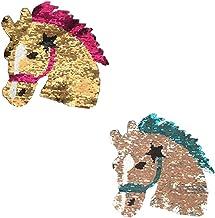 Parche con Logo Mustang Rectangular de Caballo 9 x 6 cm hotrodspirit